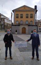 La Obra Social Fundación la Caixa dona 3.000 euros al Ayuntamiento de Las Navas del Marqués
