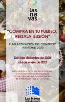 Plan de activación del comercio local. Navidad 2020. Compra en tu pueblo, regala ilusión