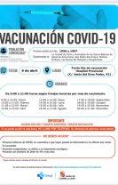 Se retoman las vacunaciones masivas para nacidos en 1956 y 1957