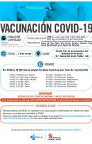 Vacunación masiva para nacidos en 1961 y 1956, 1957, 1958, 1959 y 1960 que no acudieron a su llamamiento