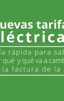 Guía Diputación sobre nuevas tarifas eléctricas