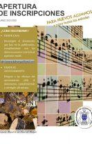 Inscripciones Agrupación Musical de Las Navas del Marqués